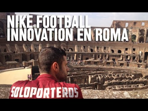 Nike Football Innovation Showcase en Roma, pt. 1 (English subtitles)