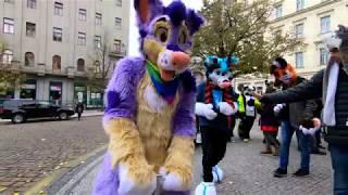Fursuit Halloween Outing Prague 2017