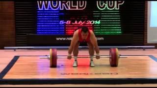 M35 (94, 105, 105+ kg) Masters World Cup 2014. Nakhchivan, Azerbaijan