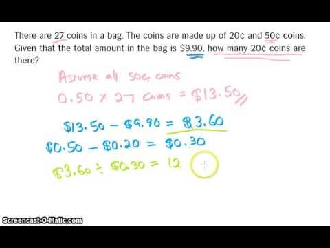 Singapore Math PSLE - Assume All Concept | Question 1