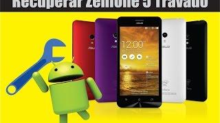Recuperar Zenfone 5 em Bootloop - Hard Reset  e Voltar para KitKAT