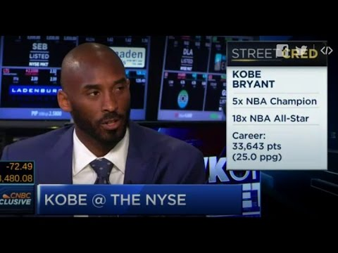 AttechCo: Kobe Says Tech Investor Not B-Ball Is His True Legacy