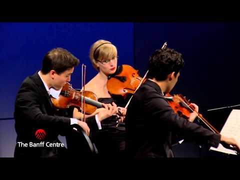 BISQC 2013 - Schumann Quartett - Felix Mendelssohn Quartet No. 6 in F minor