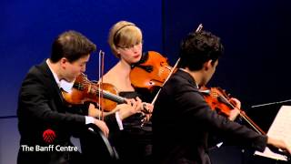 BISQC 2013 - Schumann Quartett - Felix Mendelssohn Quartet No. 6 in F minor