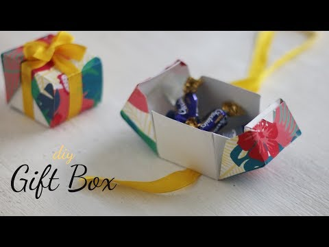DIY Gift Box  Paper Boxes  DIY Activities