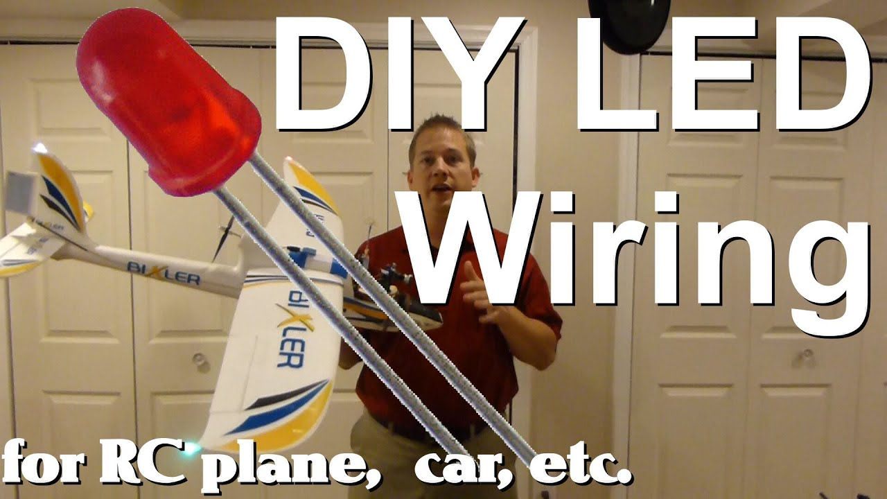 Diy Led Wiring For Your Rc Plane Car Truck Etc Youtube 6 Way Strobe Light Diagram