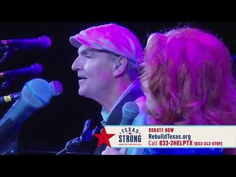 James Taylor and Bonnie Raitt -