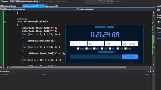 Crea tu Asistente Virtual en C# la Alarma parte 2