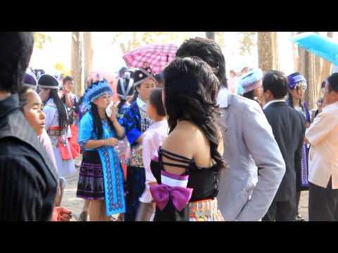 Nouvel an Hmong à Luang Prabang