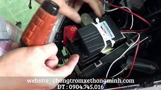 Hướng dẫn cách lắp khóa chống trộm xe máy Vision - 0904745016 Mr Dương