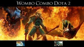 WomboCombo DOTA2 With SeekAndDestroy Episode 1 - Naga & Undying ZOMBIEPOCALIPS!
