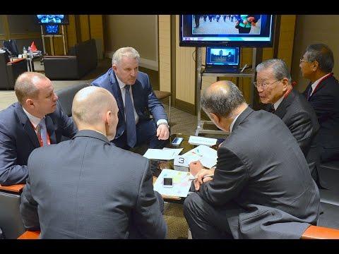Встреча Губернатора края с «JGC Corporation» в г. Токио