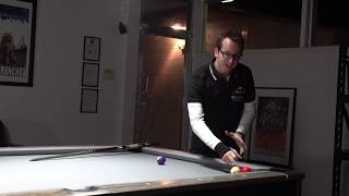 Billiards Tutorial: How to do the Satellite Masse!