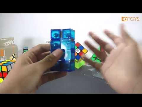 Moyu Infinity Cube (Creative Cube) review en Español IQ TOYS