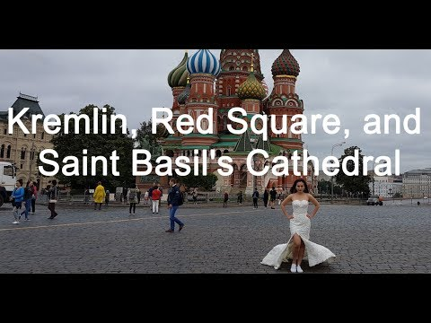 Our first time in Russia: Kremlin, Red Square, and Saint Basil's Cathedral