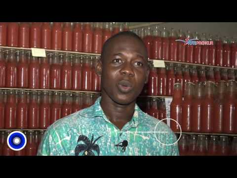 Togo: Ismaël Tanko, jeune leader de la production de purée de tomate