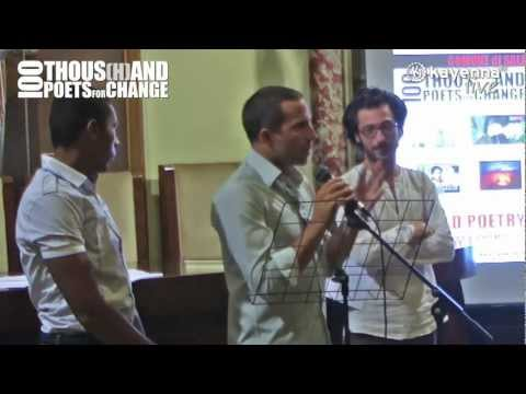 100 thousand poets for change - kayenna live del 24 settembre 2011