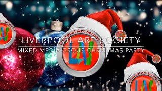 Liverpool Art Society Mixed Media Group Christmas Party 2018