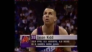 Phoenix @ Dallas - with Overtime & Buzzer Beater - 1997 - Full Game