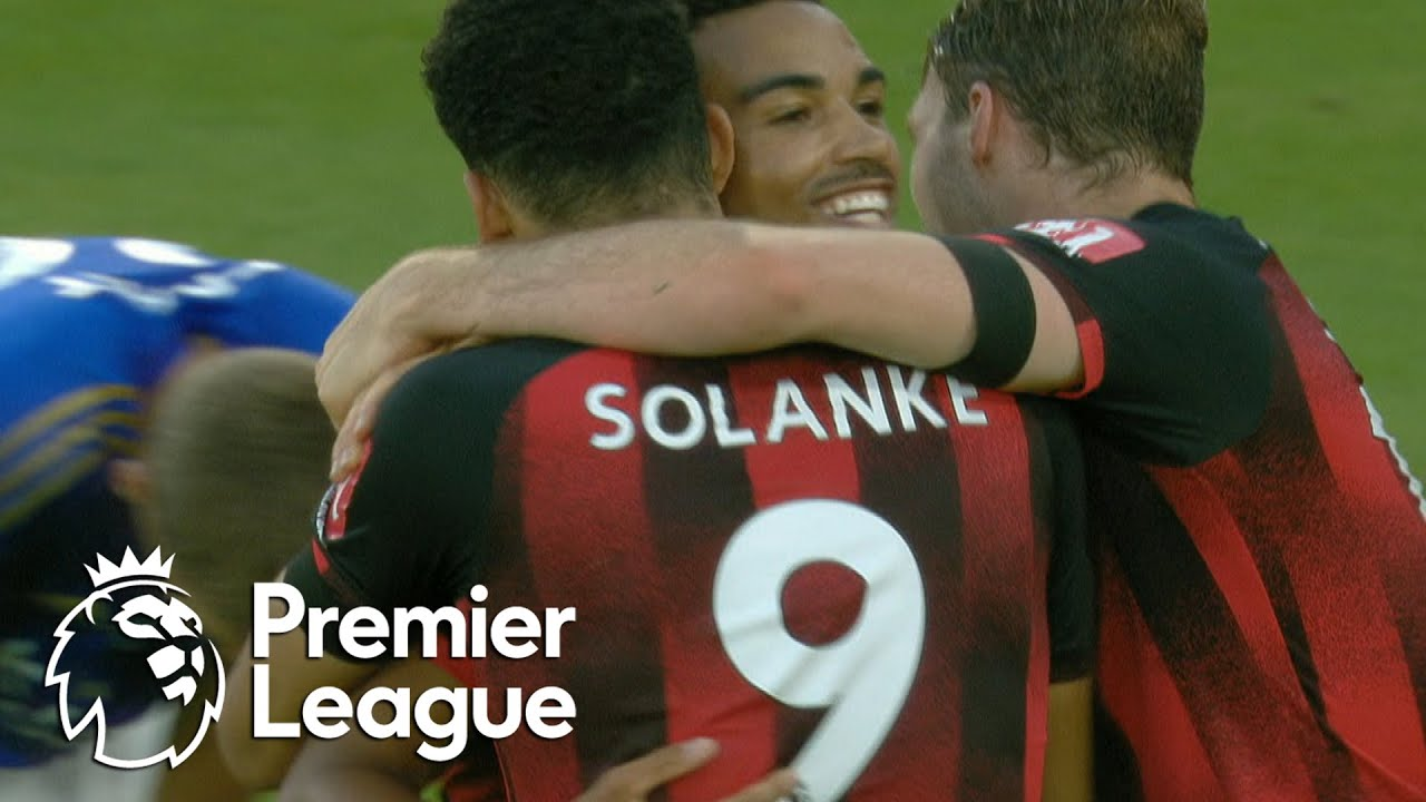 Jonny Evans own goal seals stunning Bournemouth win v. Leicester City | Premier League | NBC Sports