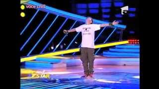 "Oscar face o demonstrație de rap pe scena ""Next Star"" - partea 2"