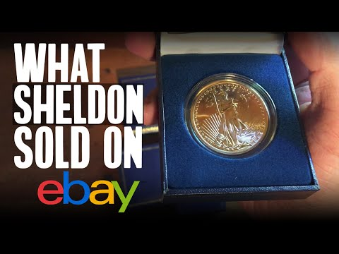 What Sheldon Sold On eBay #4: Diamond Ring, Antique 14K Gold Necklace, Machinist Tool Chest