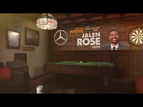 Jalen Rose Talks NBA Playoffs, LeBron's Future & more w Dan Patrick | Full Interview | 5/18/18