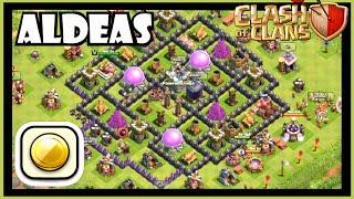 Clash of clans: COMO HACER UNA BUENA ALDEA (AYUNTAMIENTO 8 FARMING) - Diseño de aldea para TH8!