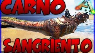 ME VOY DE VISITA Y A POR CARNO SANGRIENTO!! ARK SURVIVAL EVOLVED MODS - Patty Dragona