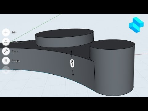 Extrude a sketch to create a body | Shapr3D for Beginners thumbnail