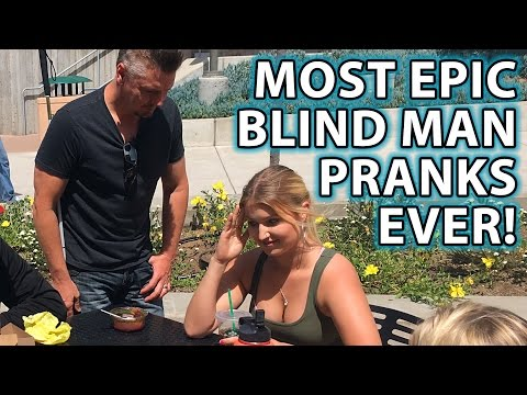Best BLIND MAN PRANK Compilation Ever!!