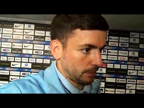 ZONA MISTA - Filip Djordjevic dopo Atalanta-Lazio