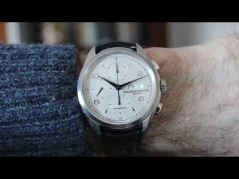Baume & Mercier Clifton Chronograph Review