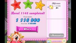 Candy Crush Saga Level 1145    ★★★   NO BOOSTER