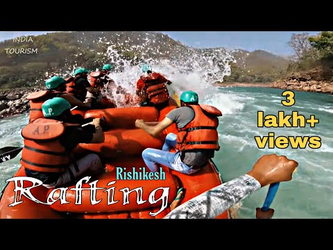 River Rafting in shivpuri ( Rishikesh ) ||  accident || Rescuing || Full HD ||2017