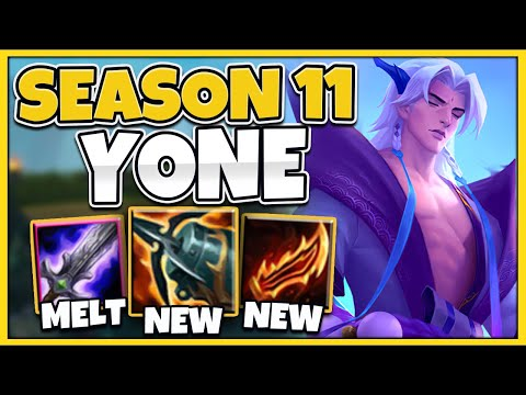 *NEW UPDATE* YONE IS THE NEW MASTER YI! WTF IS THIS DAMAGE!?! (SEASON 11) - League of Legends