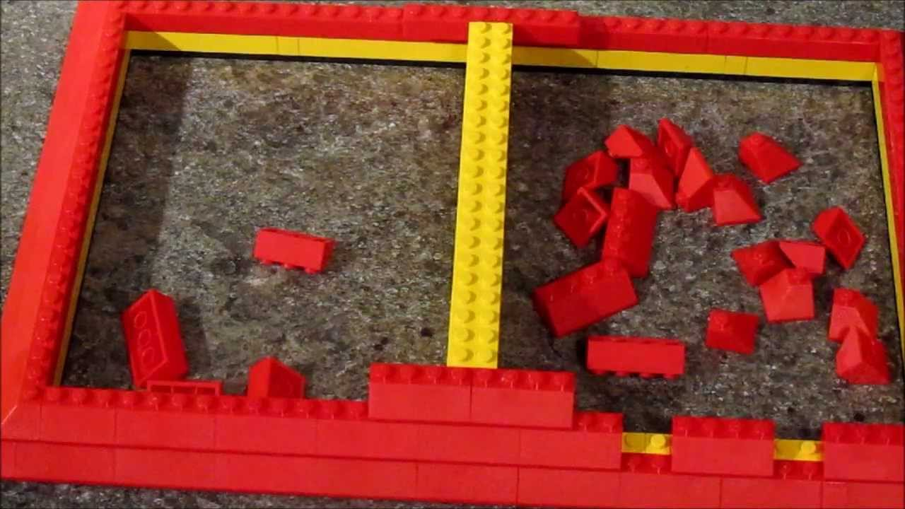 How To Build A Lego Roof Part 1 Youtube