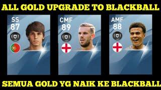 AKHIRNYA ! SEMUA GOLDBALL YANG UPGRADE KE BLACKBALL SAAT UPDATE PES ! Pes 2020 Mobile