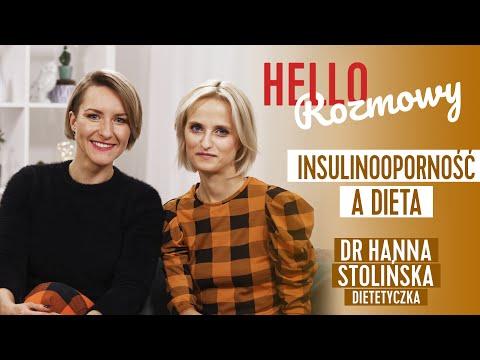 Dieta w insulinooporności. Rozmowa z dr Hanną Stolińską (3/4) #hellozdrowie
