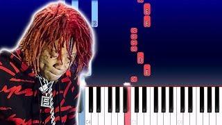 Trippie Redd - Who Needs Love (Piano Tutorial)