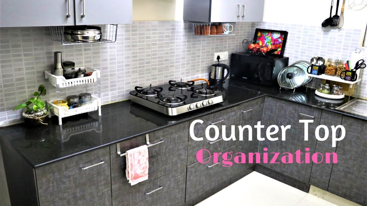Kitchen Countertops Product : Kitchen organization ideas countertop youtube