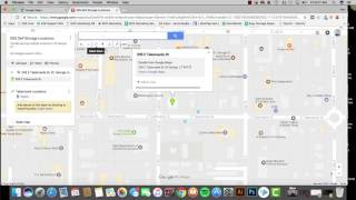 ESS - Creating A Google Map With Multiple Locations