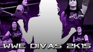 """WWE 2K15 """"Diva"""" My Career Mode #1: MaELLE"""