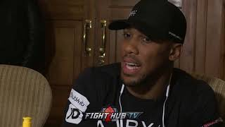 """ANTHONY JOSHUA FIRES BACK AT JOSEPH PARKER OVER """"WEAK CHIN"""" COMMENTS"""