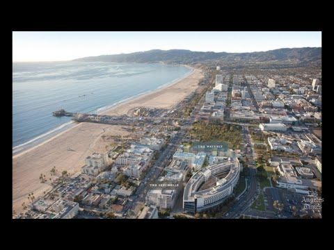 Downtown Santa Monica civic center area gets a makeover