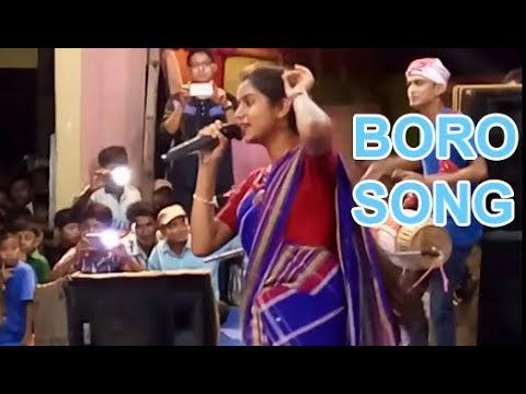 Nahid afrin singing Boro song For the 1st time in goreswar