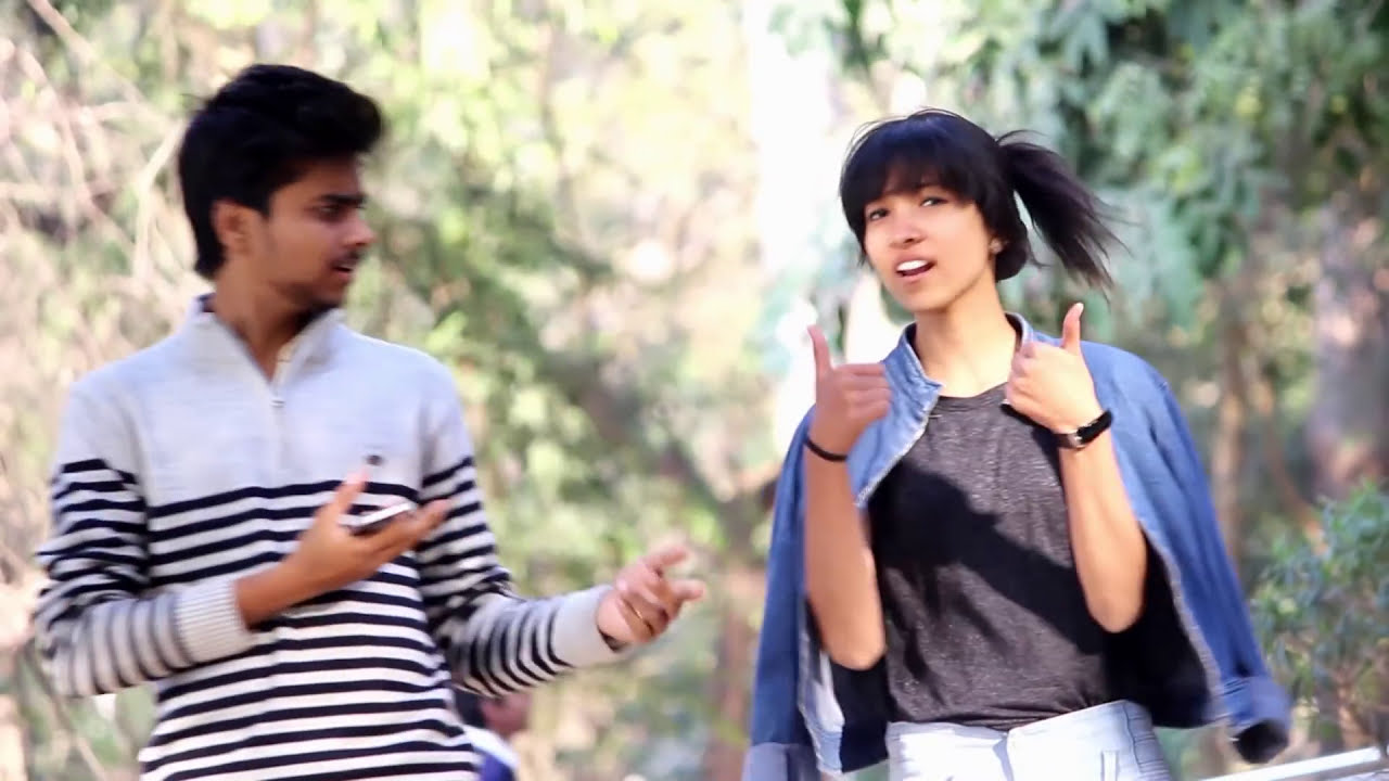 Hot Girl Complementing Ass Prank Touching Pranks In India