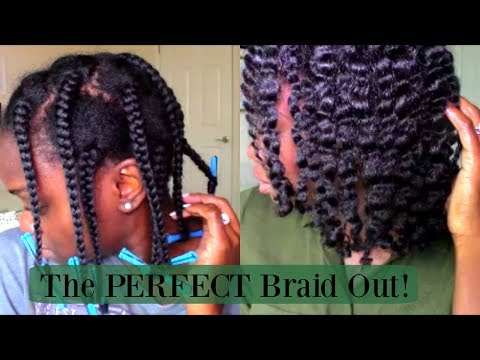 The PERFECT Braid Out for Relaxed (Texlaxed) Hair