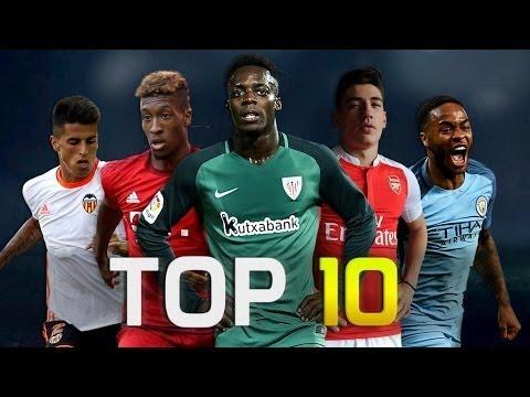 Top 20 Fastest Footballers 2017