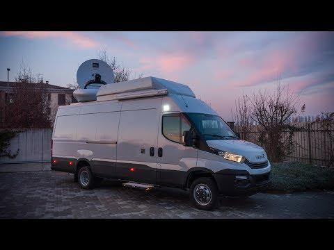 6 HD Cameras DSNG OB Van with drive-away antenna